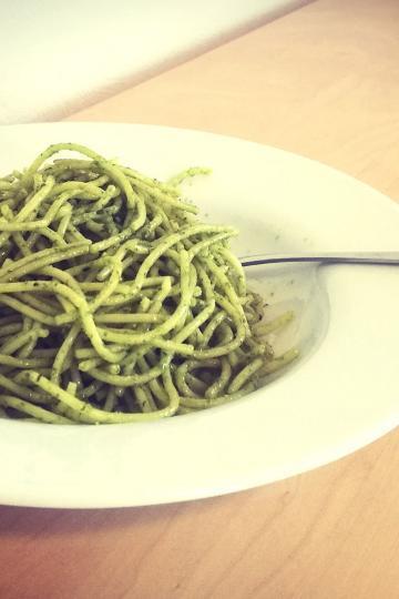 Ein Teller Spaghetti