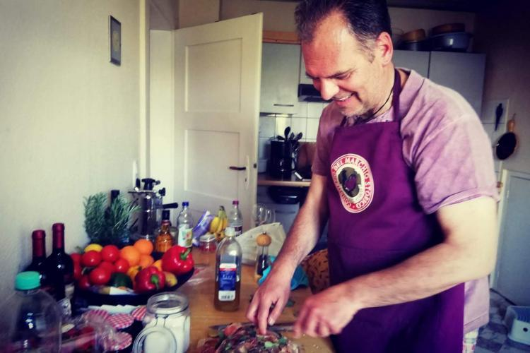 Zubereitung einer Lammmkeule