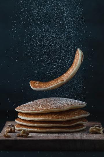 Ein Stapel Pfannkuchen