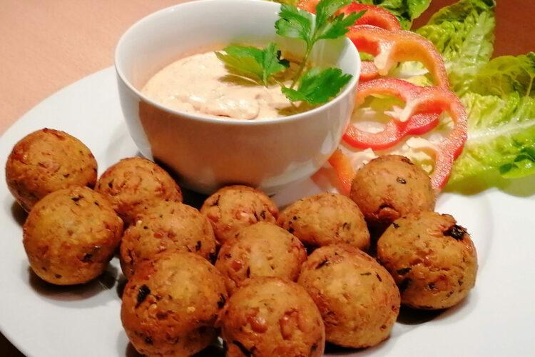 Falafel mit Dip
